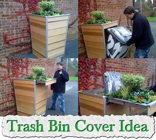 Trash Bin Cover Ideaac?
