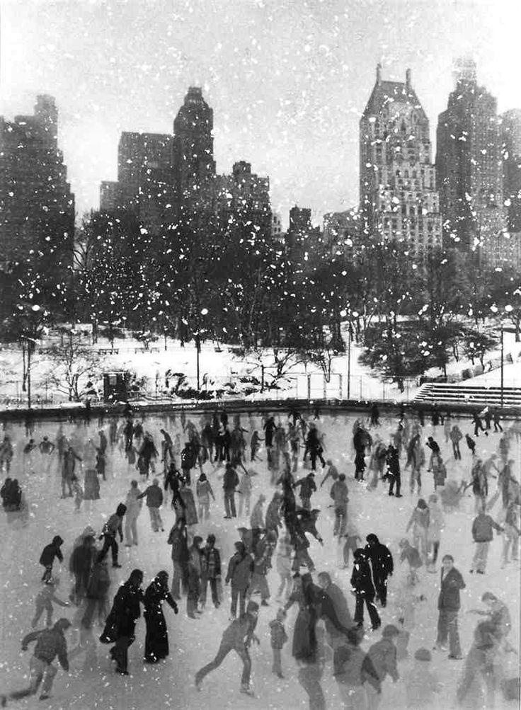 Edward Pfizenmaier. Wollman Rink, Central Park, New York, 1954