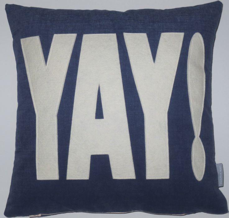YAY! Love this cushion