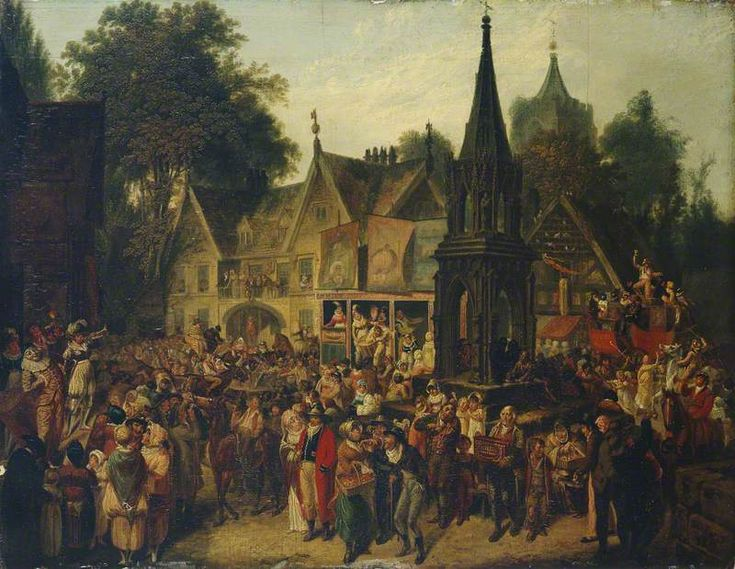The Village Fair  Joseph Parry (1756–1826)  Manchester Art Gallery