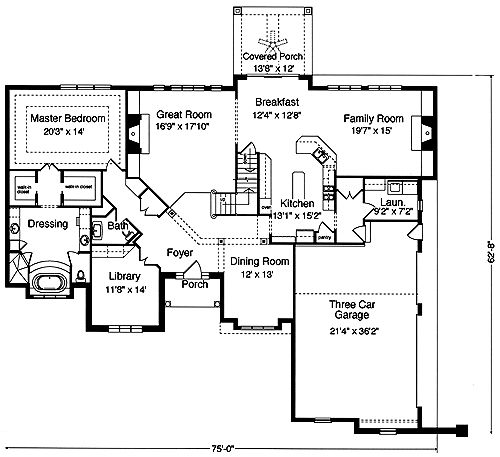 44 Best House Plans Images On Pinterest | Floor Plans, Traditional