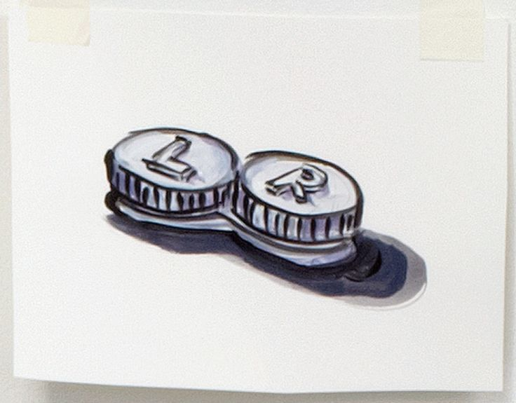 Contact Lens Case by Lisa Milroy » Shop » Drawing Room