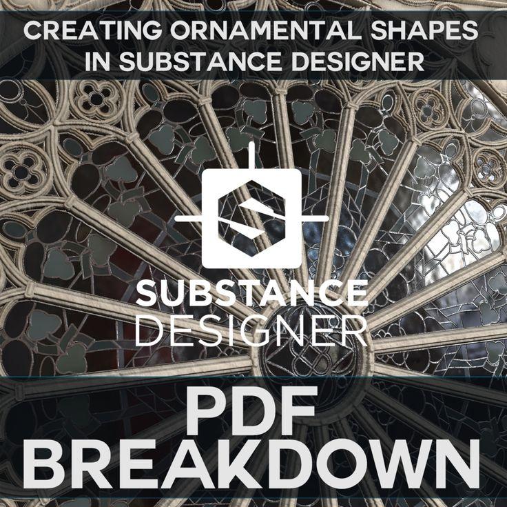 PDF Breakdown - Creating Ornamental Shapes in Substance Designer