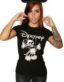Destroy Ladies Tshirt