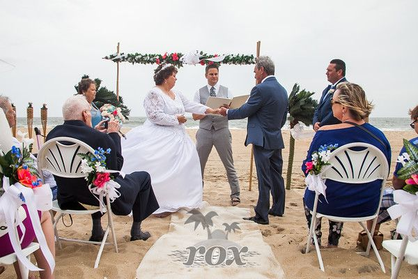 Ocean City Maryland Beach Wedding Decorations Add To Ceremony