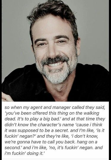 Jeffrey dean morgan / twd