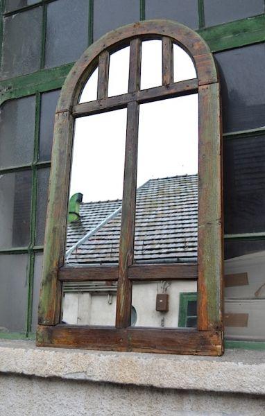 Industrial window mirror - artKRAFT - Furniture&Design