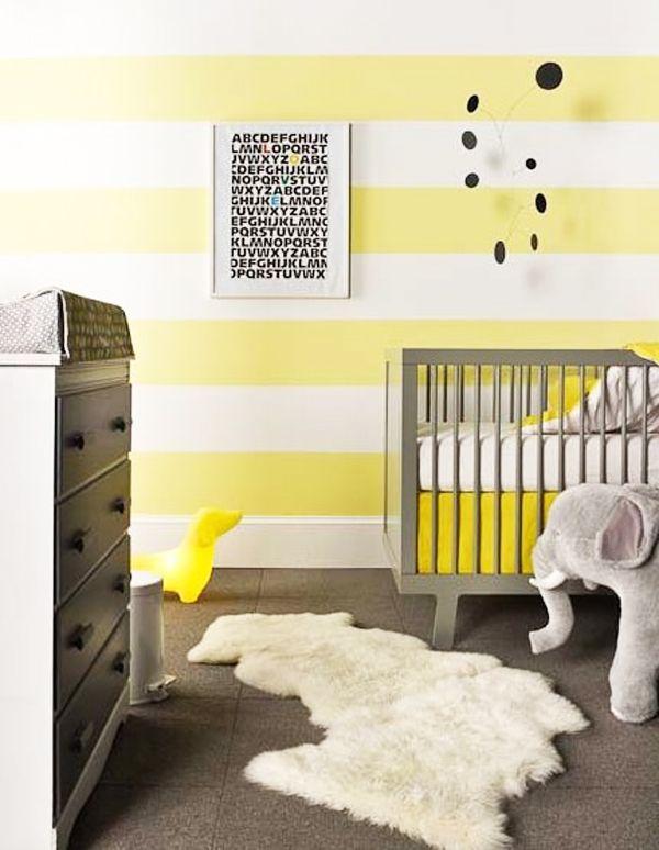 yellow stripes...