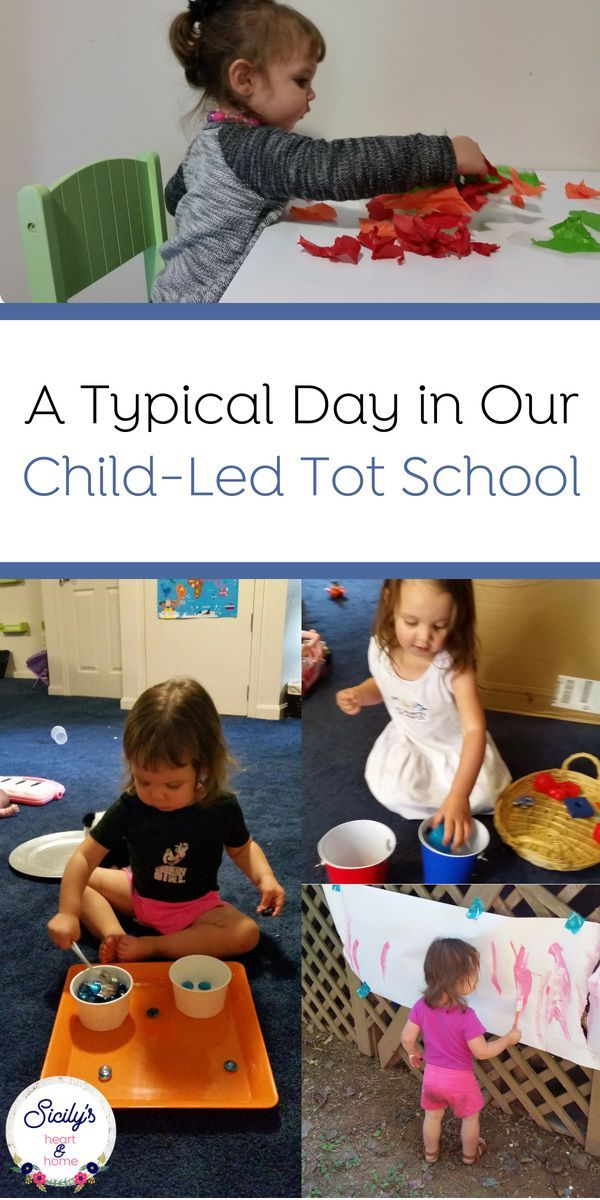 Toddler Routine: A Glimpse Into A Typical Tot School Day