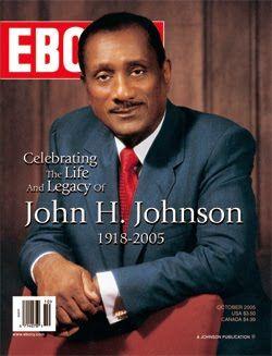 John H. Johnson, Founder of Ebony and Jet Magazines, Johnson Publishing (Chicago)