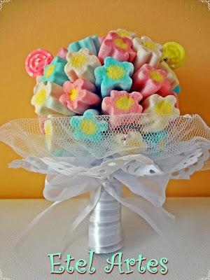 Buquê de Marshmallow!: Bouquet Of, Buquê Para, De Marshmallows, Parties Festa, Love3 Dreams, Sweet Love3