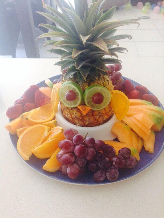 Owl fruit platter https://www.facebook.com/pages/Bronwens-Crafting-Blitz/448098965301794?ref=hl