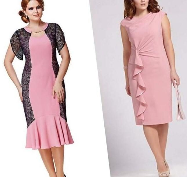 Вечерние платья для полных 2015. На торжественное мероприятие каждая дама надевает элегантное вечернее платье.