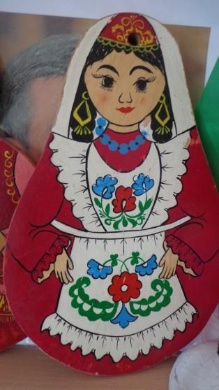 История татарского национального костюма рисунки