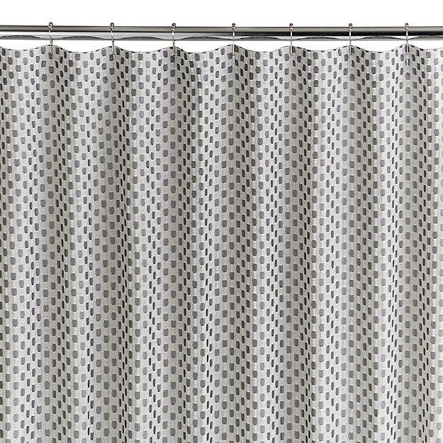 Izet Honeycomb Shower Curtain Reviews Crate And Barrel