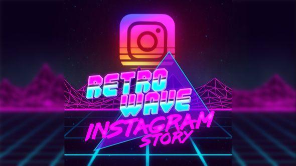 80's Retro Visual Style Animation  Retro-futuristic 80`s