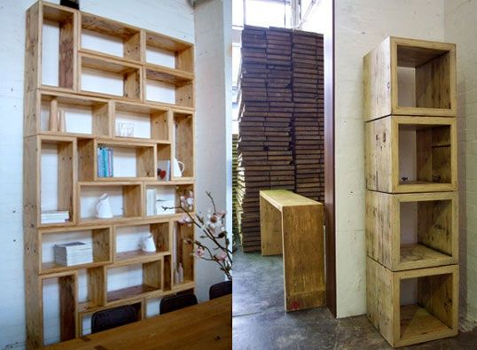 packing crate furniture. Mark Tuckey: Packing Crate Book Shelves Furniture O