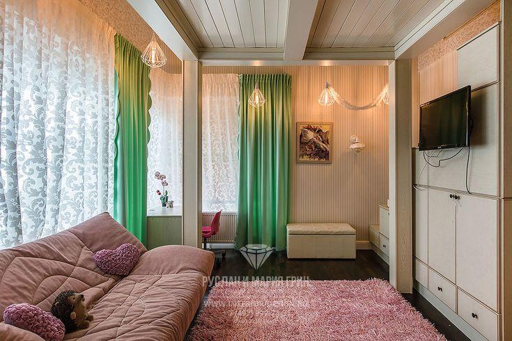 Фото интерьера детской комнаты в доме