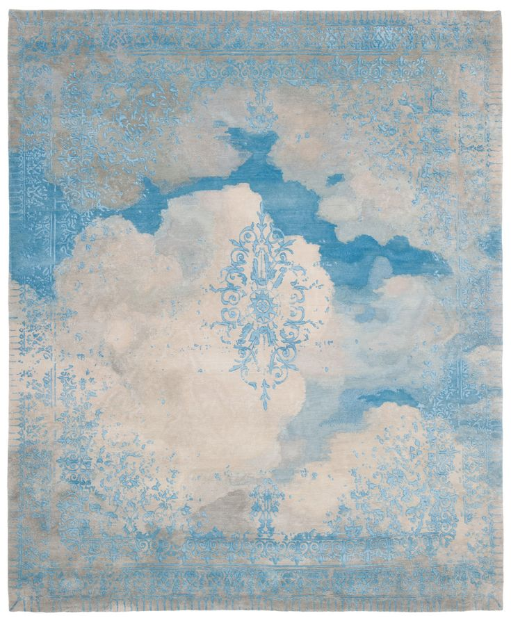 "JAN KATH wool and silk rug - JOBY loves - underlined, marked ""Silk Wool carpet WOW"" :)"