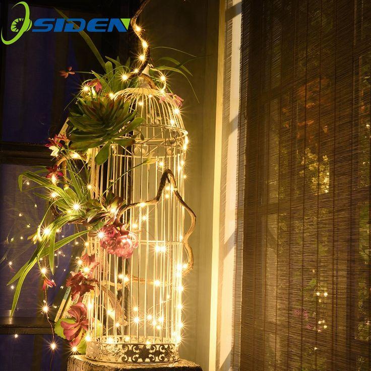 Osiden Led String Lights 33ft 100 Leds Starry Decorative Lights For Bedroom Wedding
