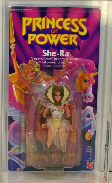 She-ra - Princess of Power (1984) Loved my She-ra dolls - thankfully I still have them to pass on to my own daughter :)