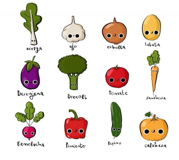 22 best allie age 9 images on pinterest monkeys tag - Verduras lista de nombres ...