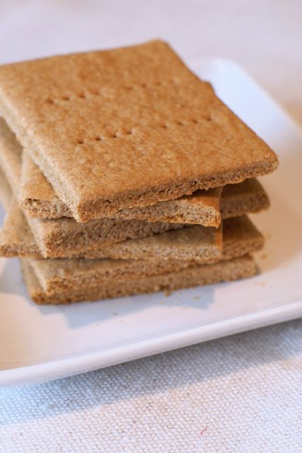 Graham crackers {Gluten-Free, Vegan -- sub maple syrup or agave for honey}
