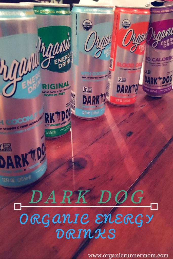 Dark Dog Organic Energy Drink. Bring on the energy! http://organicrunnermom.com/dark-dog-organic-energy-drink-bring-on-the-energy-review/ @DARKDOGorganic #organicenergy