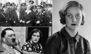 The scandalous life of Unity Mitford is unveiled in a new biography. It goes against the aristocratic family's attempts to paint her relationship with Hitler as 'youthful fancy'. Author David Mitford claims to have reliable sources that show there was nothing naive or romantic about her antics.
