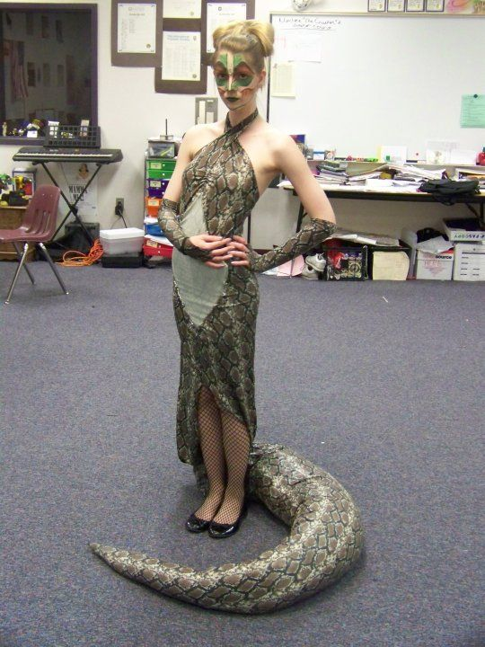 jungle book snake costume | Kaa Costume