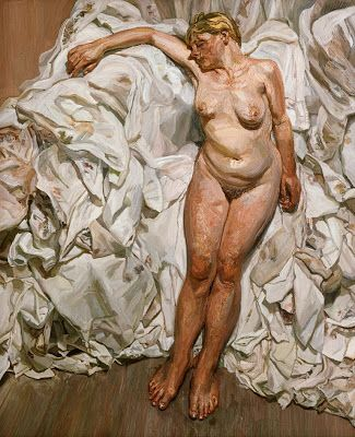 Lucian Freud - was TOLD to look at his works by my teacher...