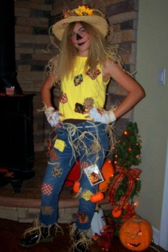 22 best Halloween Costumes images on Pinterest Costume ideas - scarecrow halloween costume ideas