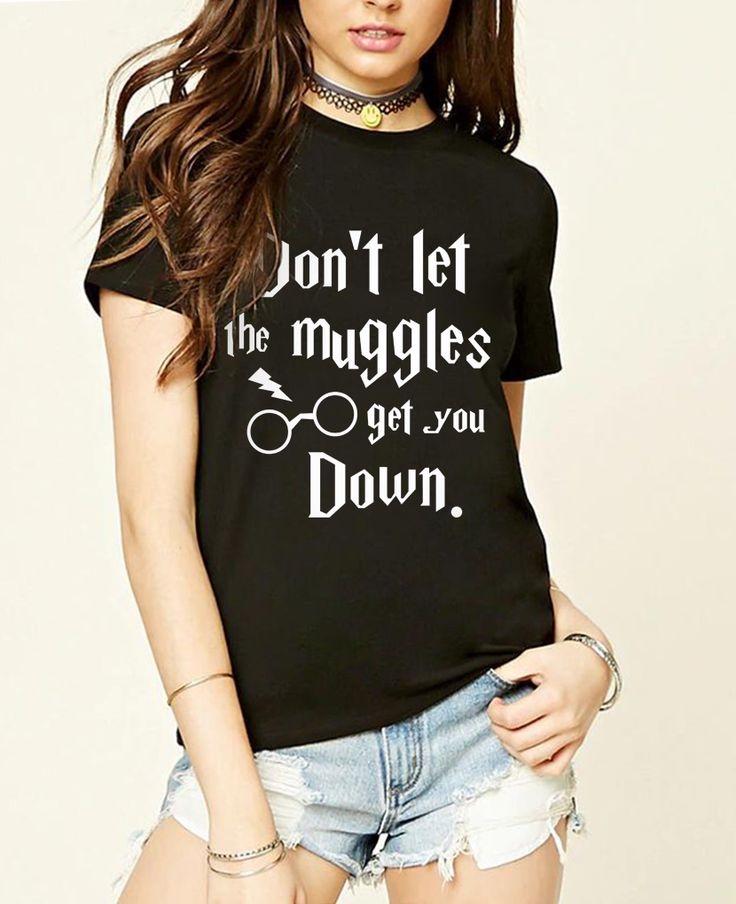 Don't Let The Muggles Get You Down T-shirt (6 colors) - free shipping worldwide