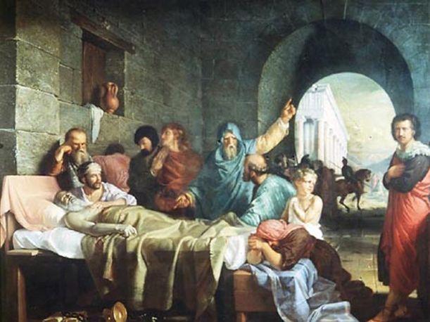 Hablemos de Filosofía - 10 Curiosidades que no debes olvidar de Socrátes -  1. Sócrates nació en el año 470 a.c, hijo de un escultor y una partera. Murió en el 399 a.c. luego de un juicio al que se le condenó a muerte.    2. Sócrates nunca escribió un solo libro, fue su discípulo Platón quien dejó el testimonio de su maestro en sus diálogos.    3. Existen dos libros de La Apología de Sócrates, donde se narra el juicio al que este filósofo fue sometido, uno escrito por Platón y otro por…