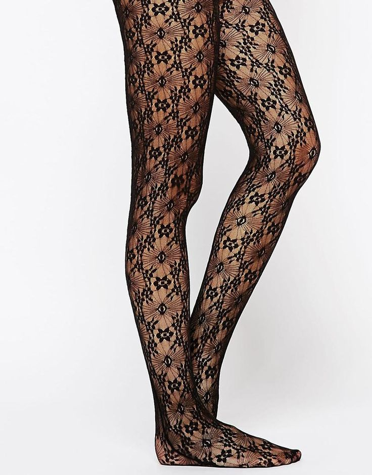 Gipsy Gothic Cut And Sew Lace Tights