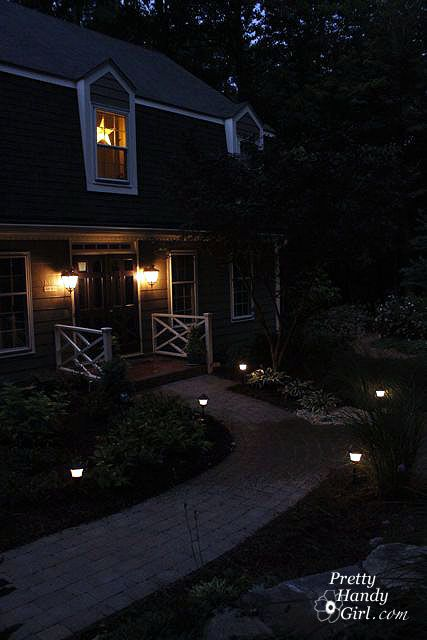 How To Install Low Voltage Landscape Lights From @Pretty Handy Girl