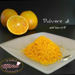 Polvere di arance
