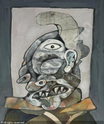 LUCEBERT - Head