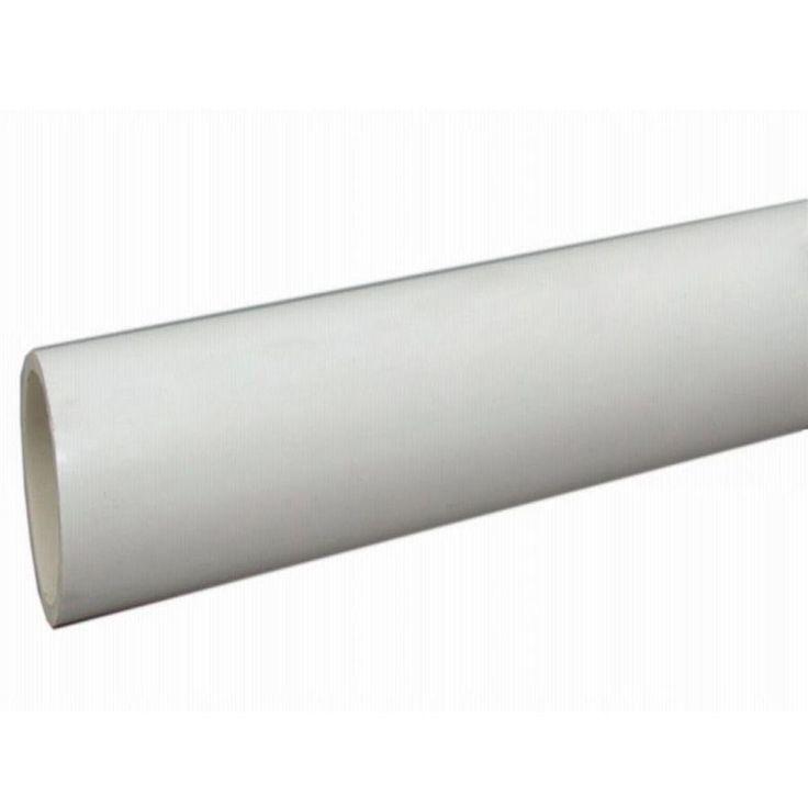 Charlotte Pipe 3-in x 10-ft Sch 40 PVC DWV Pipe