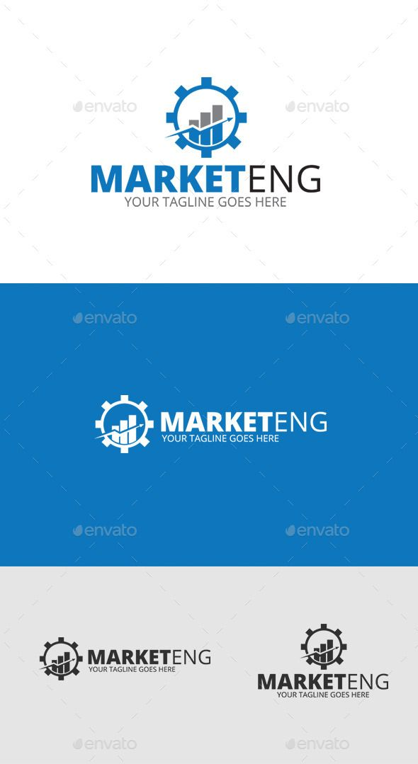 Marketing Logo Template — Vector EPS #success #statistics • Available here → https://graphicriver.net/item/marketing-logo-template/9220765?ref=pxcr