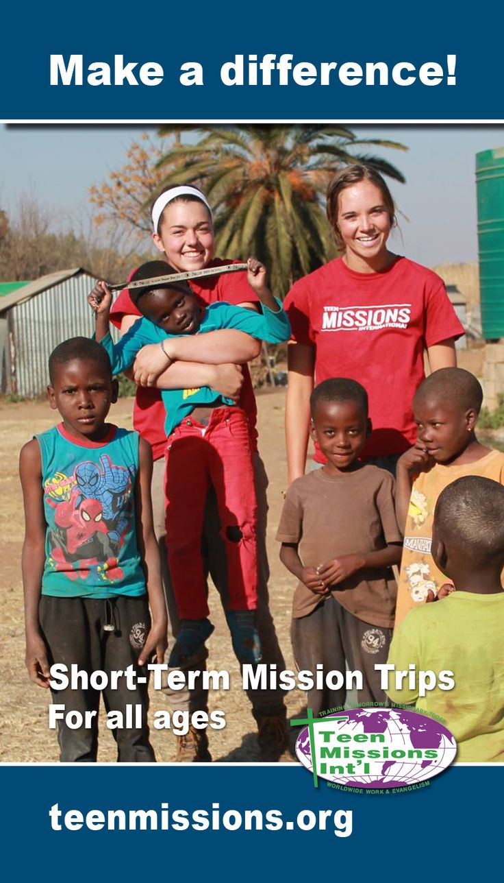 32 best images about Teen Missions Promotions on Pinterest ...