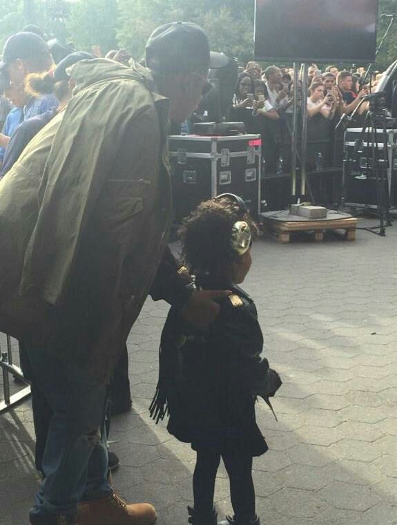 Blue Ivy & Jay At Global Citizen Festival Central Park NYC ...