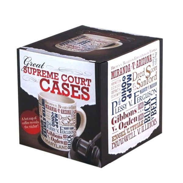 Newseum Online Store | Supreme Court Cases Mug