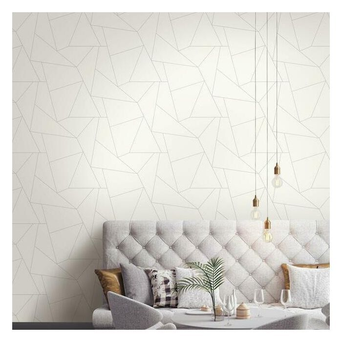 Fractured Prism Premium Peel And Stick Wallpaper Room Visualizer Wall Coverings Peel And Stick Wallpaper