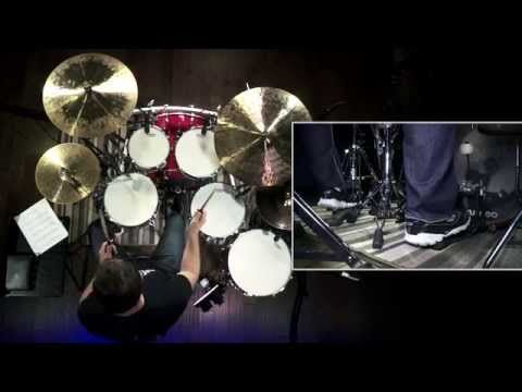 Learn to play drum grooves in the style of The Who's Keith Moon - YouTube