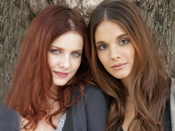 oh my gosh, Celena and Maggie (Rachel Hurd-wood and Caitlin Stasey)