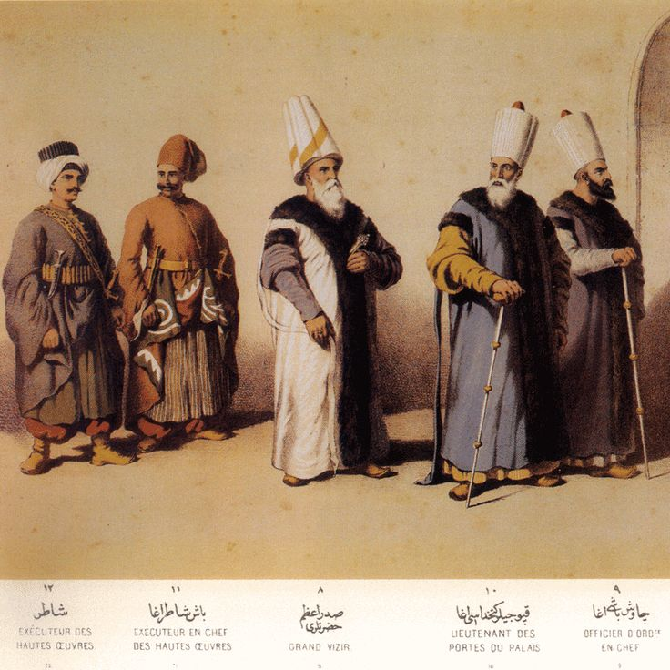 Palace garb, Ottoman Empire