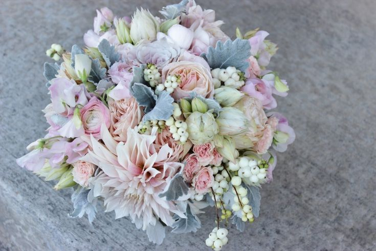 On Pinterest Maidenhair Fern Gray Weddings And Blue Wedding Flowers