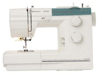Macchina da cucire Husqvarna Emerald 118 - Con motore a controllo elettronico, non necessita di lubrificazione. Piena forza dell'ago anche sui tessuti pesanti.