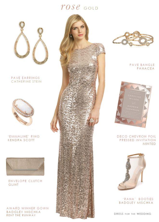 209 best Rose Gold Wedding images on Pinterest Wedding nails